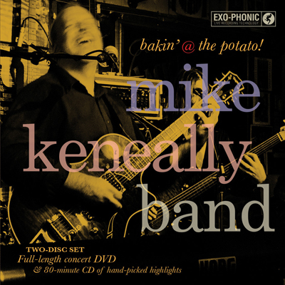 bakin' @ the potato! Mike Keneally Band
