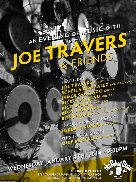 An Evening With Joe Travers & Friends