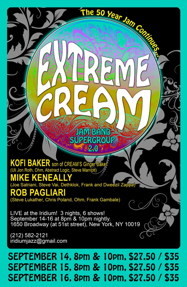 Extreme Cream in NYC!