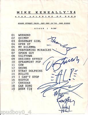 09/24/1994 setlist