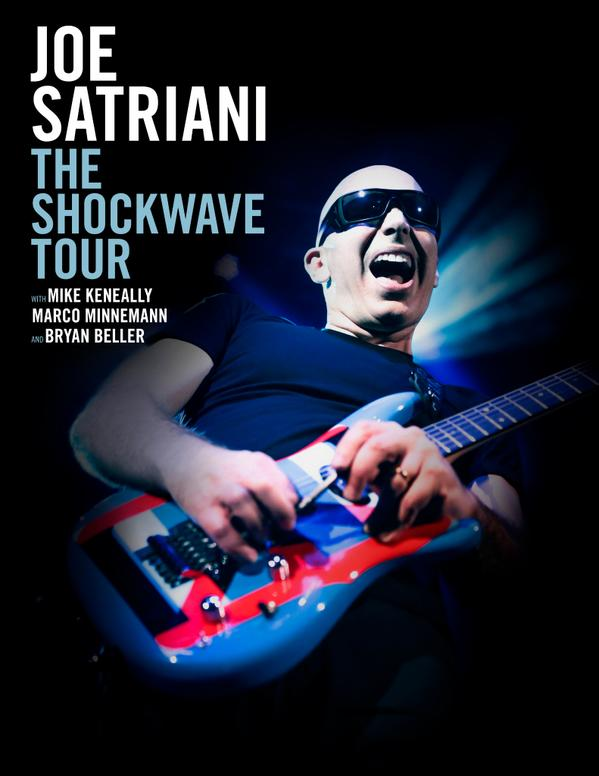 Joe Satriani The Shockwave Tour