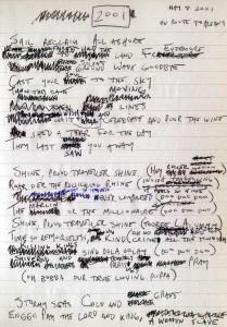 2001 lyrics - Mike Keneally