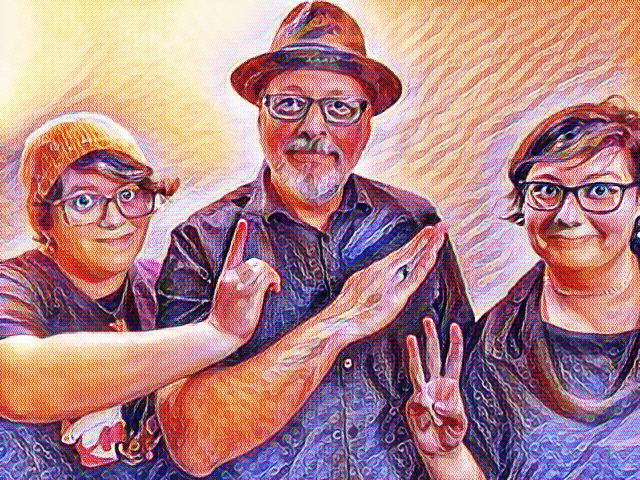 (L to R: Jesse Keneally, MK, Chelsea Jones - photo by Sarah Crochet)