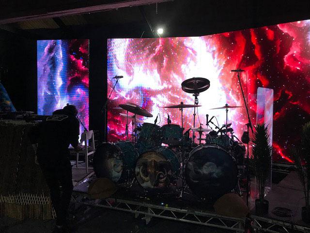 Devin Townsend rehearsal photo