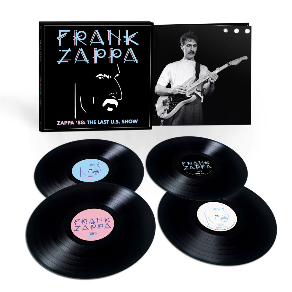 Zappa '88: The Last U.S. Show - 4LP Black Vinyl