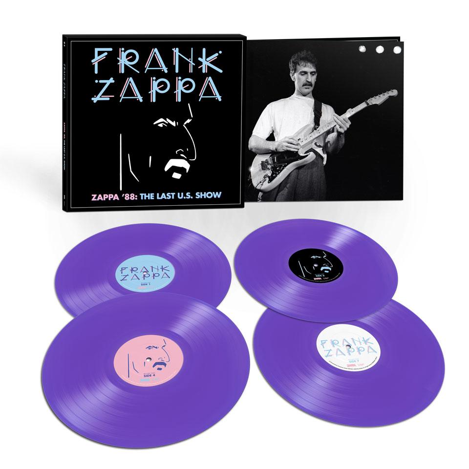 Zappa '88: The Last U.S. Show - 4LP Purple Vinyl